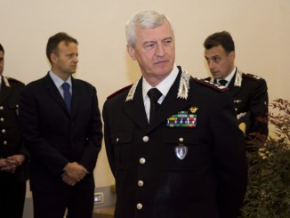 Il Comandante Interregionale Podgora in visita al Comando Legione Umbria