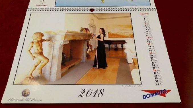Uno scatto del Calendario 2018 dell'Automobile Club Perugia