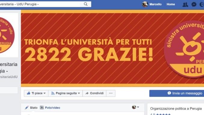 Bilancio Università, studenti aderenti all'UDU votano contrario