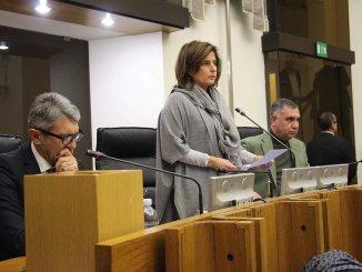 Conferenza stampa presidente Donatella Porzi, presidente Assemblea legislativa