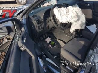 Incidente a Ripa, donna perde controllo auto, è in rianimazione