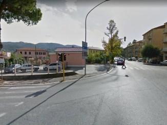 Rotonda mai realizzata all'incrocio dei viali 8 Marzo, Trento e Trieste