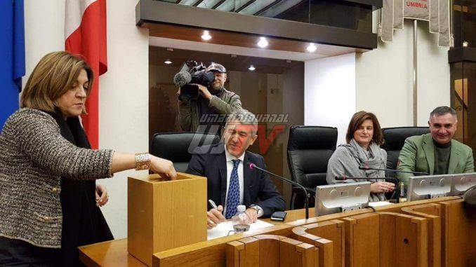 Regione Umbria, Assemblea Legislativa, confermati presidente e vicepresidenti