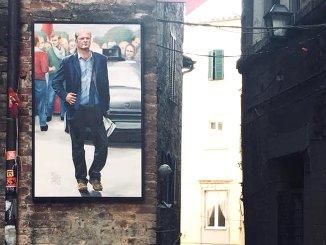 """Scritte fasciste su ritratto di Paolo Vinti, Pd di Perugia: """"Gesto vile e violento"""""""