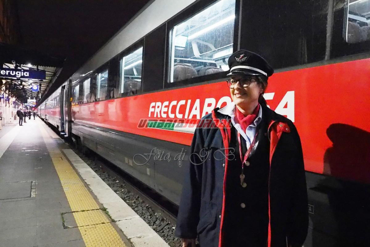 Frecciarossa Perugia-Milano si pensa al raddoppio, c'è l'impegno della Caripg
