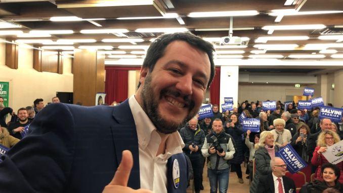 Ministro Matteo Salvini, 20 nuovi agenti in Umbria entro febbraio 2019