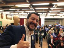 Matteo Salvini a Terni, per fare il punto sulle amministrative in arrivo
