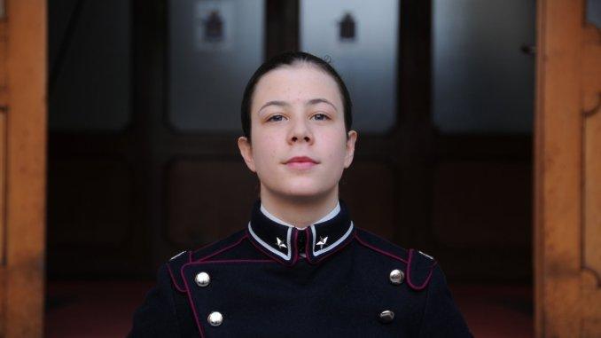 Alleva Ania Ludwica spoletina giura presso la Scuola Militare Teuliè di Milano