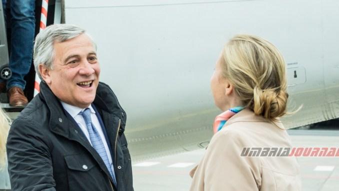 Ameria Festival, il premio Barbarossa al presidente Antonio Tajani