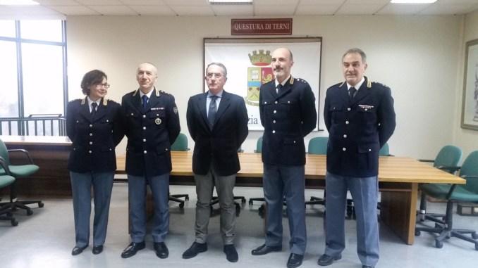 Quattro neo Commissari nominati alla Questura di Terni
