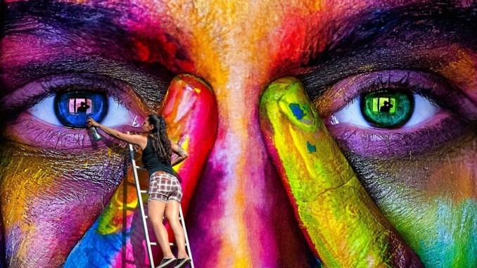 Arte contro spray selvaggio