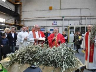 Messa all'Acciai Speciali, monsignor Piemontese, Ast seconda cattedrale di Terni