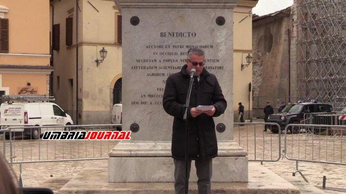 Norcia, intervista esclusiva al sindaco Nicola Alemanno