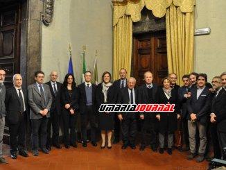 Anno accademico Marini riceve rettore Moriconi e Senato accademico