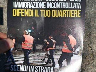 La Pallotta Perugia saccheggiata dai ladri, Forza Nuova fa le ronde