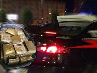 Dieci chilogrammi di hashish arrestata una coppia di spacciatori marocchini a Terni