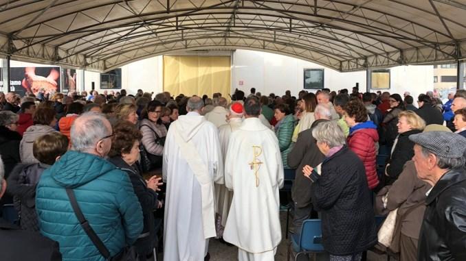 Un popolo in festa per il lavoro e la solidarietà alla cappella dell'Assunta