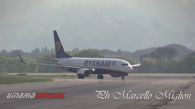 Aeroporto di Perugia resterà aperto garantendo i servizi minimi essenziali