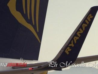 Ryanair torna a volare in estate, primo volo disponibile da Perugia quello per Catania