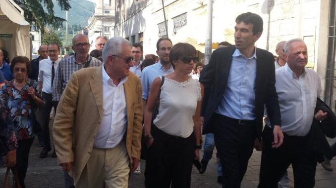 """Martina su Salvini: """"Trump mette i dazi sull'acciaio, lui fa le dirette Facebook"""""""