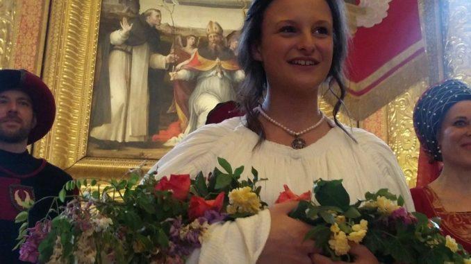 Perugia 1416, Roberta Baldoni è la prima dama di Porta Sant'Angelo