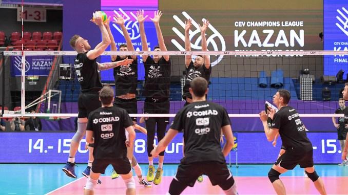 Volley Sir Safety, Final Four, sabato con Kazan per un posto in finale!
