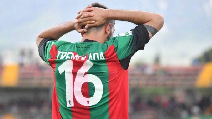 Pro Vercelli-Ternana Unicusano 2-1, i rossoverdi retrocedono in Serie C