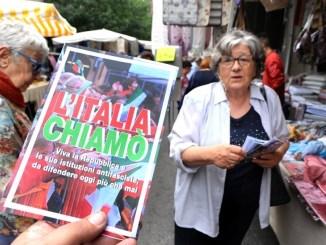 Il Circolo Pd Perugia Centro organizza per domani 2 giugno e Festa della Repubblica un volantinaggio a Pian di Massiano