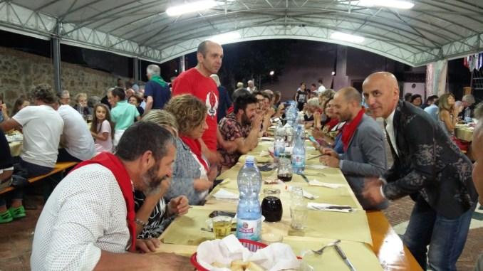 Perugia 1416, gran finale a Fontignano Rioni hanno brindato insieme