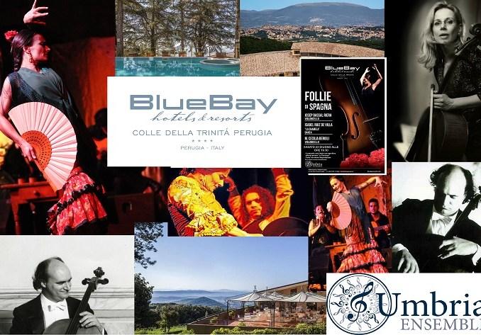 Follie di Spagna sulle note di UmbriaEnsemble, terrazza BlueBay Resort