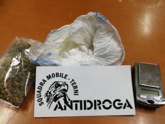 Arrestato spacciatore ternano, trovato in possesso di 50 grammi di cocaina
