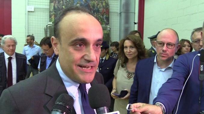 Ministro beni culturali Alberto Bonisoli a Perugia venerdì 9 agosto