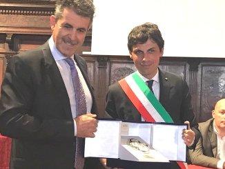 Sir Safety Conad e Gino Sirci nell'albo d'oro comune di Perugia