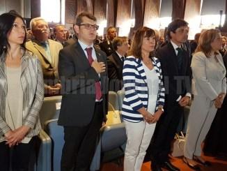 Perugia, celebrazione del 244esimo anniversario della Guardia diFinanza
