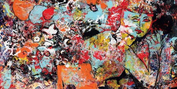 Nella luce, nel colore, inaugurata a Roma la mostra dedicata all'artista perugino Giuseppe Fioroni