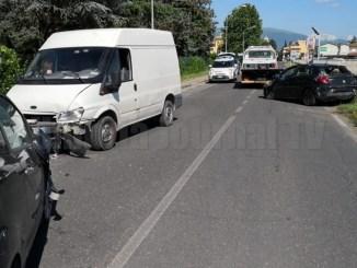 Bimbo di circa due anni ferito in un incidente stradale a Bastia Umbra