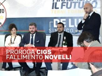 Ex Novelli, De Luca e Lucidi M5s al lavoro per la proroga Cigs