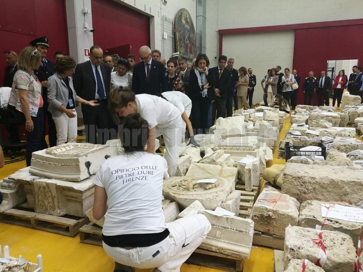 Il sisma: prevenzione e gestione dell'emergenza dei beni culturali