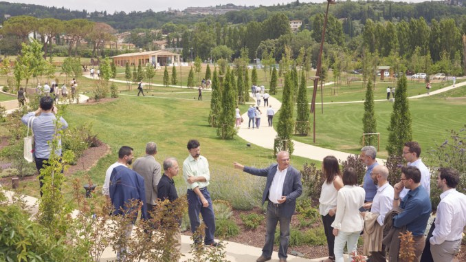 Barton Park a Perugia, un'area verde, tra lavoro, cultura e tempo libero