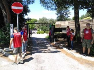 Assisi, CasaPound si sostituisce per un giorno a parcheggiatori abusivi