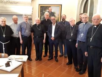 Conferenza Episcopale Umbra, riunione mensile dei vescovi a Città di Castello
