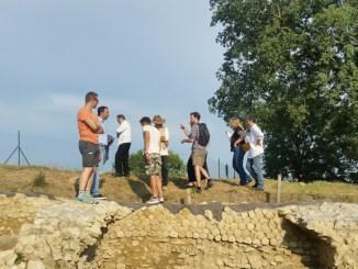 Scavi archeologici Lugnano in Teverina arrivati archeologi americani