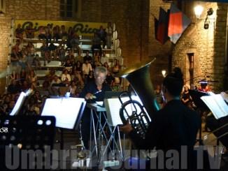 Ramberto Ciammarughi con Eugenio Allegri al Corciano Festival omaggio a Francesco