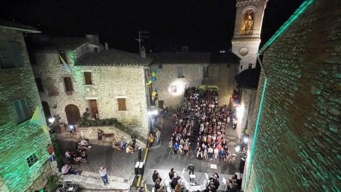 Grandioso successo per il Corciano Festival 2018 tra i grandi dell'Umbria