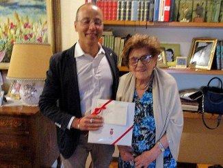 Gli auguri del sindaco di Perugia a Nonna Fausta: 101 anni