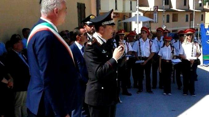 Commemorazione Martiri di Fiesole a Bagnara di Nocera Umbra