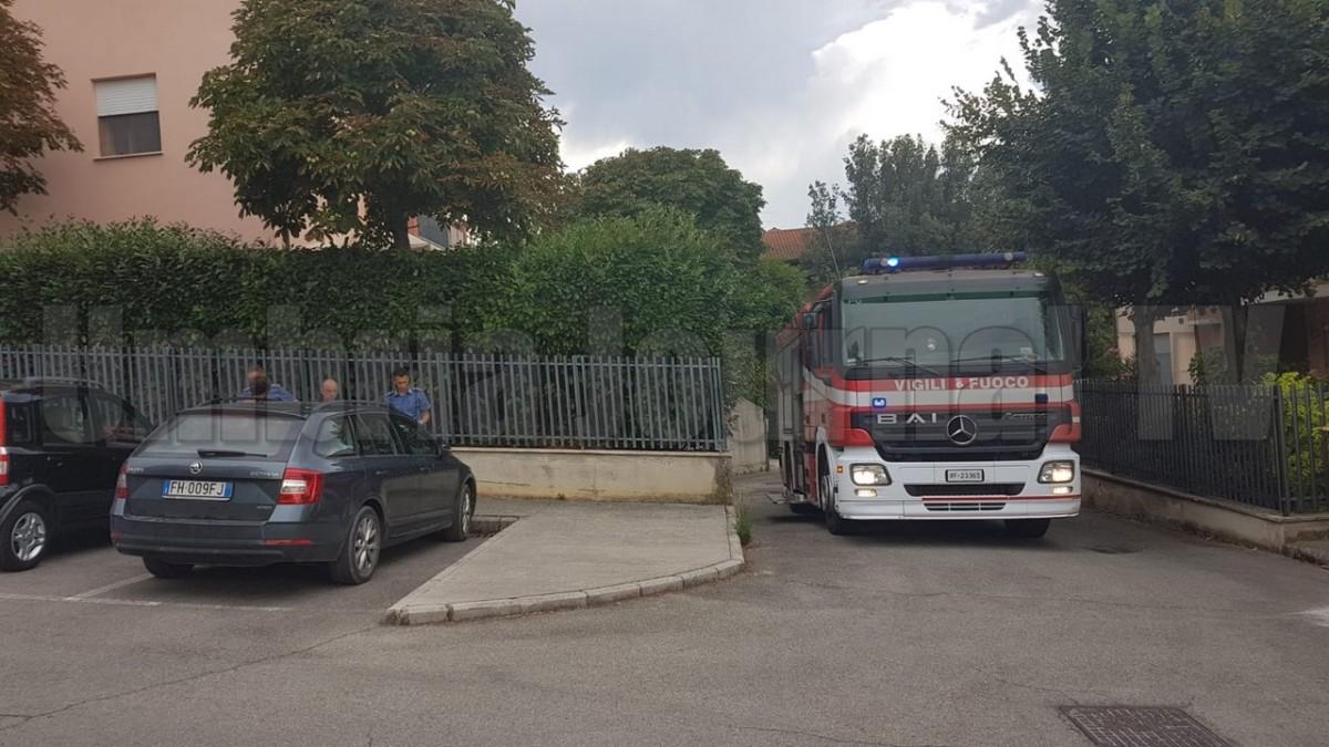 Incendio abitazione a San Martino in Colle di Perugia, ferita gravemente una donna