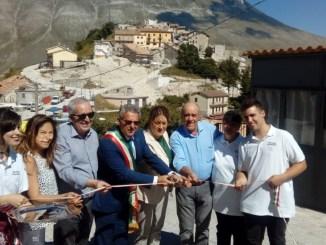 Primo agriturismo a Castelluccio di Norcia, Marini, segno di grande speranza