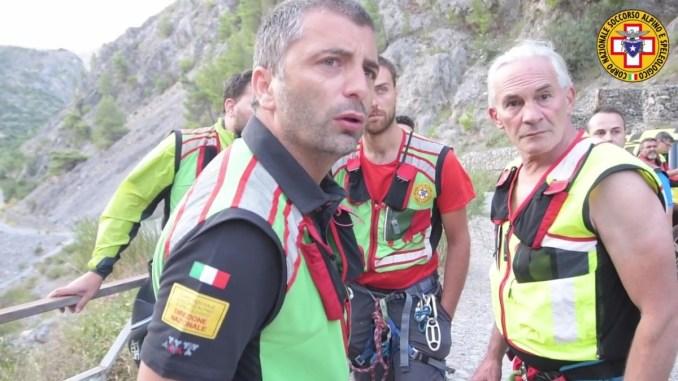 Gole del Raganello, soccorso alpino dell'Umbria partecipa alle ricerche