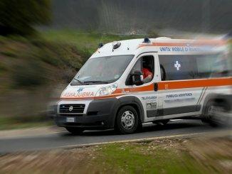 Incidente stradale nel comune di Umbertide, motociclista di 28 anni in codice rosso